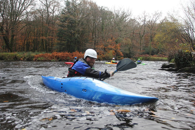 Intro to White Water Kayaking on the River Dart