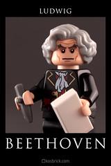 Ludwig van Beethoven by kosbrick