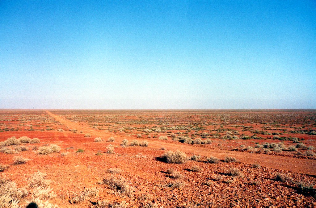 Sturt Stony Desert Australia Seismic Exploration Central