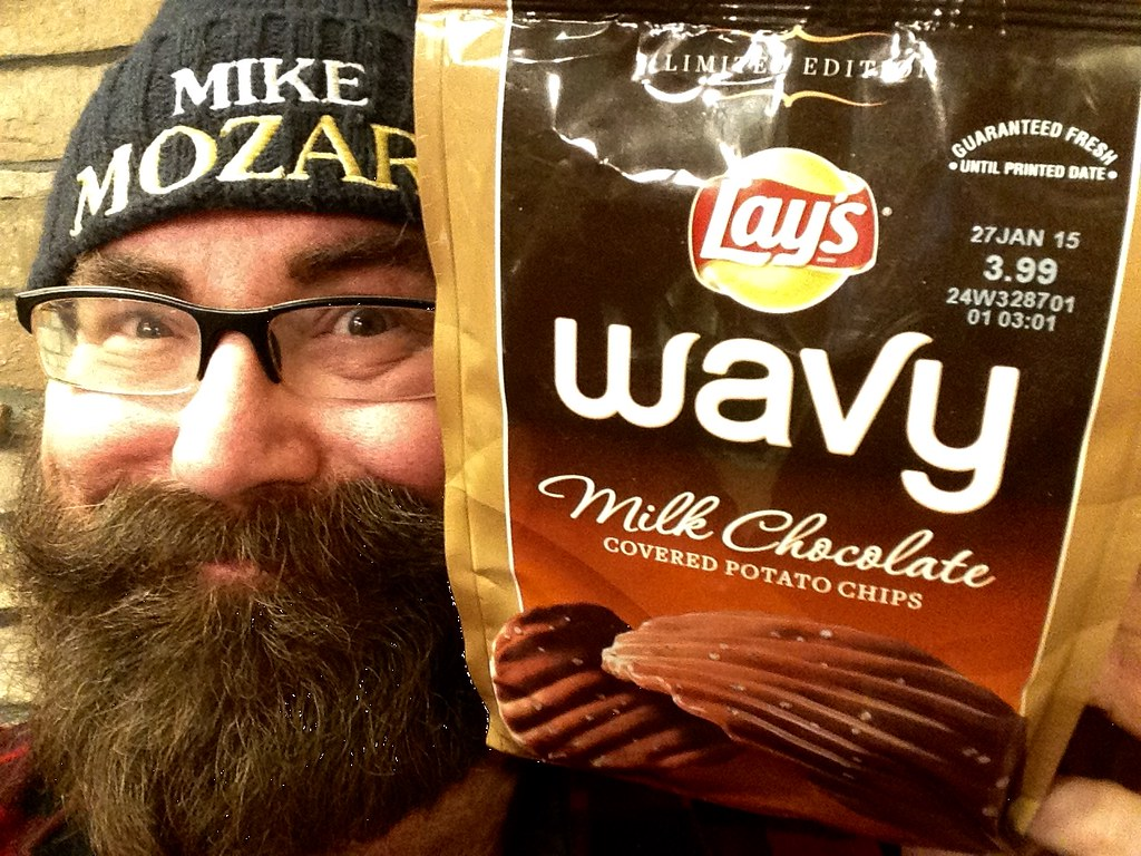 Lays Wavy Chocolate Covered Potato Chips Crisps | Lays Wavy … | Flickr