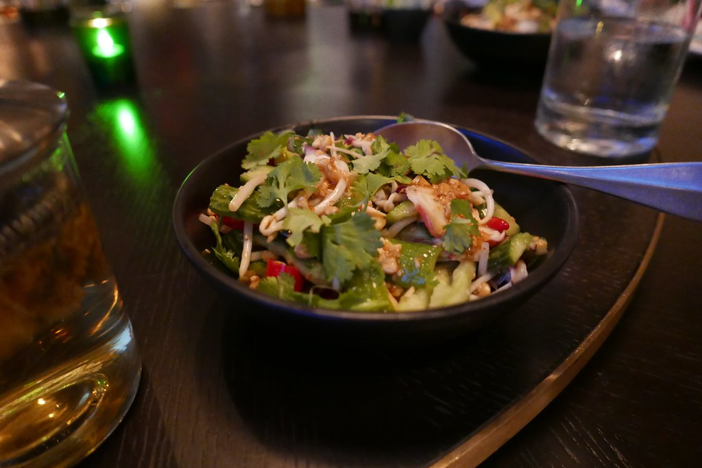 Octopus, Cucumber, Peanut Salad | Duck Duck Goat, Chicago, I ...