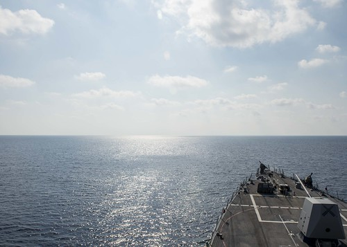 SOUTH CHINA SEA – USS William P. Lawrence (DDG 110) conducted a routine patrol May 2 in international waters during a regularly scheduled 7th Fleet deployment.