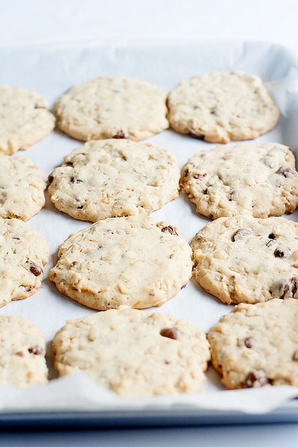 bakery style oatmeal cookies - Heather's French Press