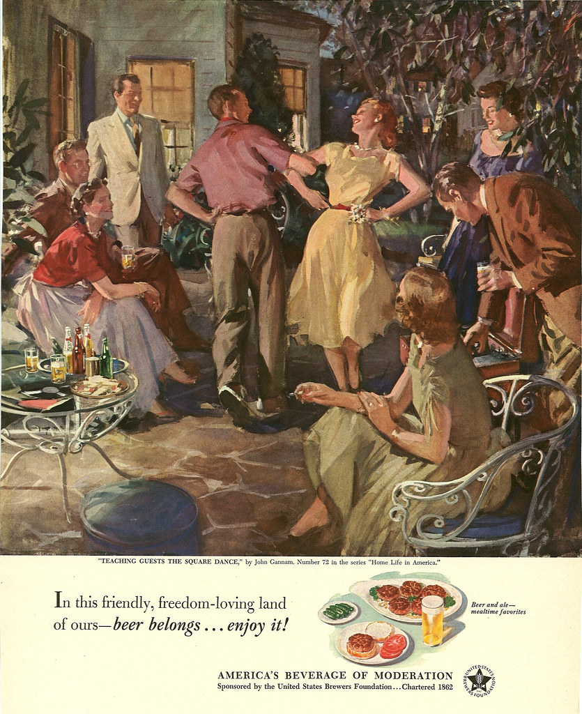 072. Teaching Guests the Square Dance by John Gannam, 1952