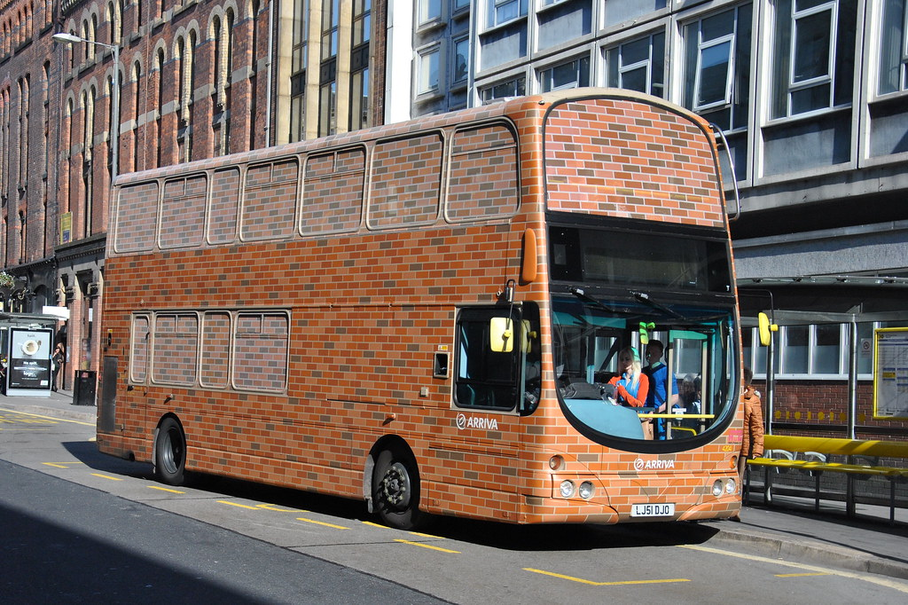 Arriva Merseyside 4204 The Brick Bus A Wright Eclipse