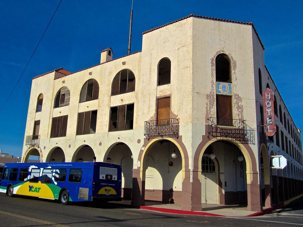 Hotel Del Sol Yuma AZ Hotel Del Sol 200 East 3rd Street Flickr