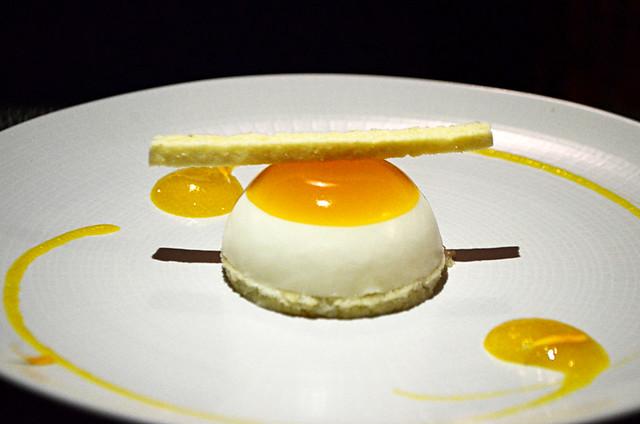 Passion fruit dessert, Restaurant Haydee, La Orotava, Tenerife