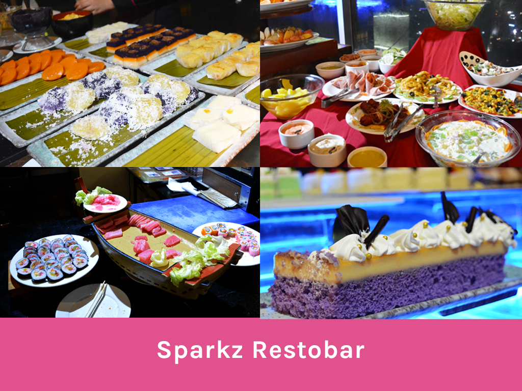 Sparkz Restobar Crown Regency Hotel and Towers - Wandering Ella