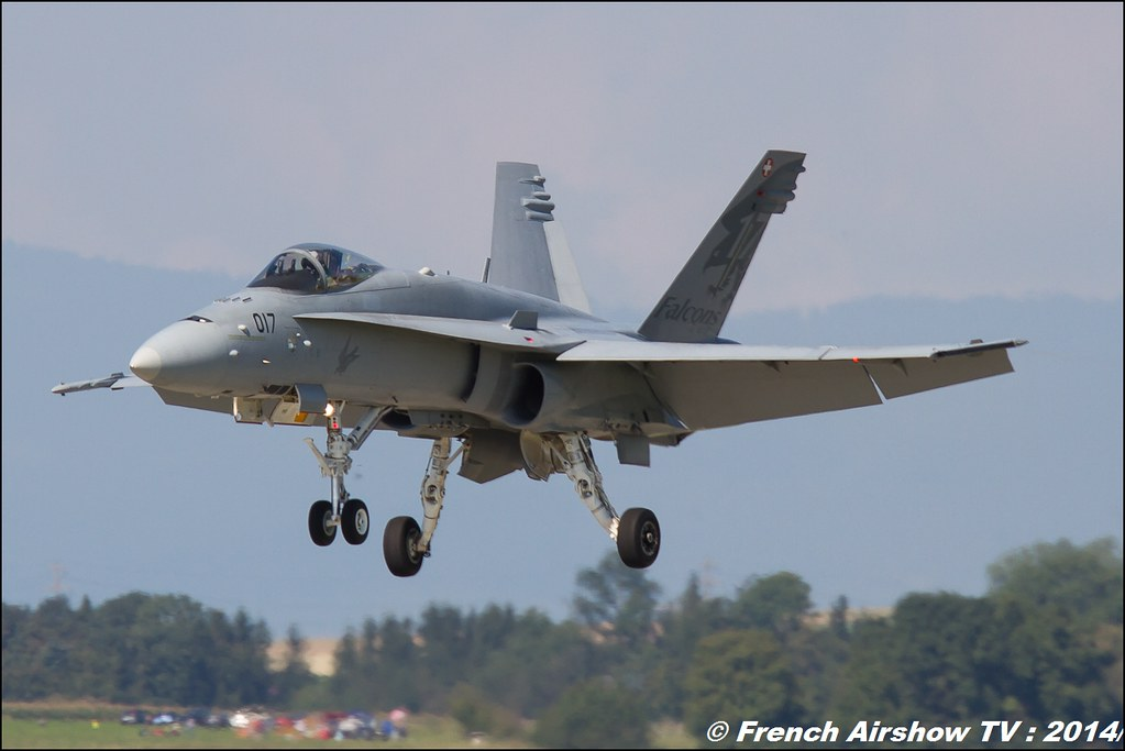 F/A -18 Hornet Solo Display Swiss Hornet Display Team AIR14 Payerne 2014 Canon Sigma France contemporary lens
