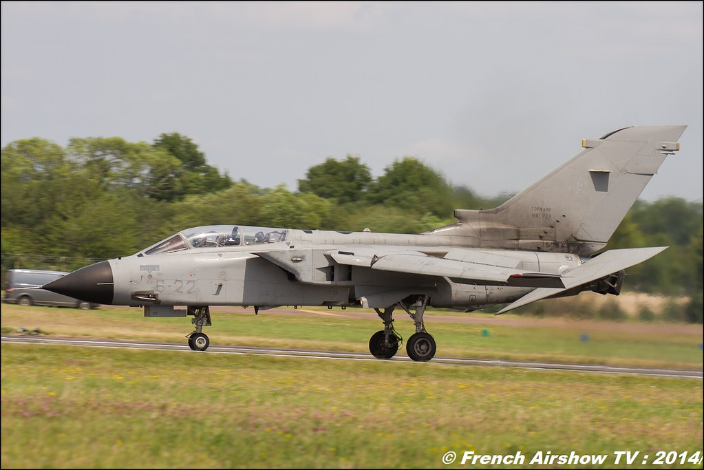Panavia Tornado , Aeronautica Militare Italian Air Force , RIAT , Fairford , Royal International Air Tattoo 2014 , Meeting Aerien Air Tattoo , Meeting Aerien 2014