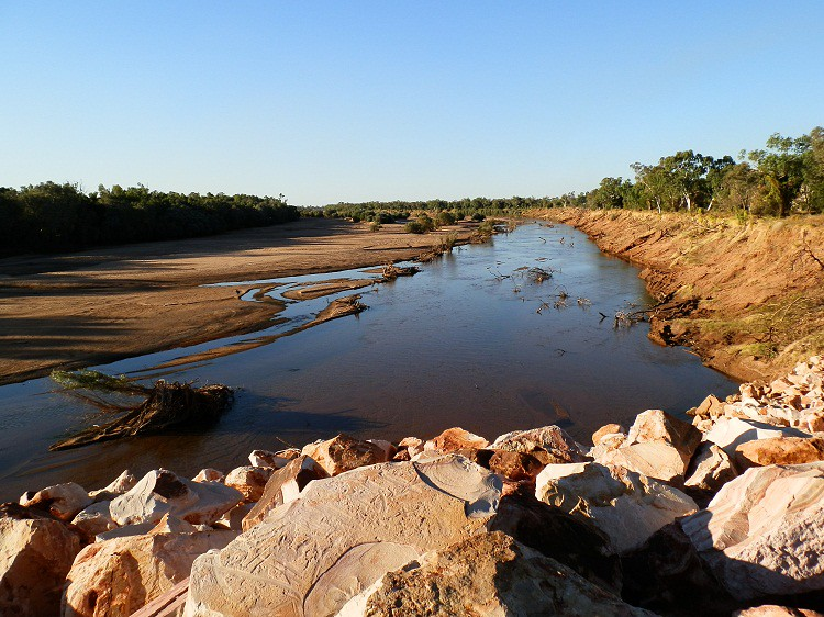 Fitzroy River at Fitzroy Crossing, Kimberley