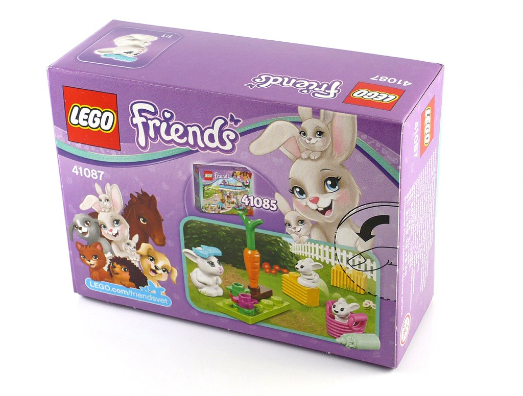 LEGO Friends 41087 Bunny and Babies 02 | noriart | Flickr