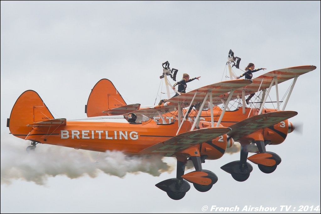 Breitling Wingwalkers , Air14 Payerne 2014 , Meeting Aerien 2016