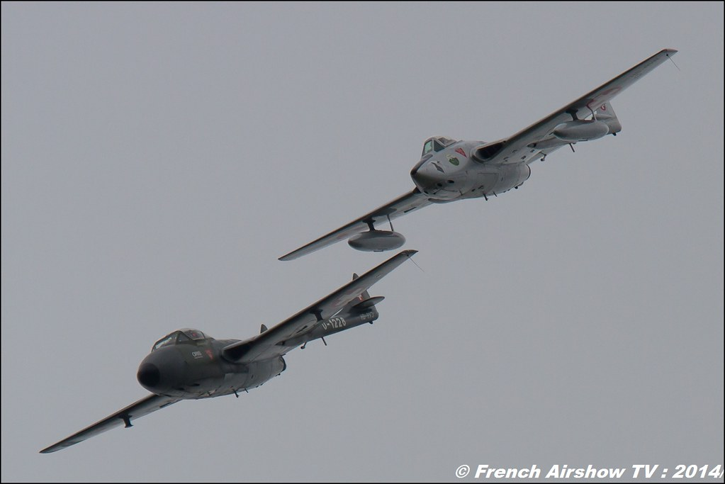 Vampire , AIR14 Payerne , suisse , weekend 1 , AIR14 airshow , meeting aerien 2014 , Airshow