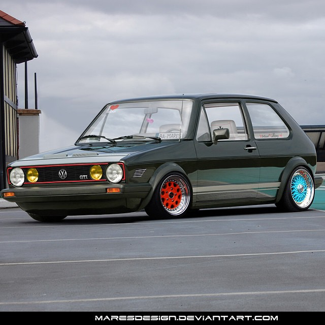 Mk Week On Wheelsonapp Vw Golf Mk1 By Maresdesign Whe