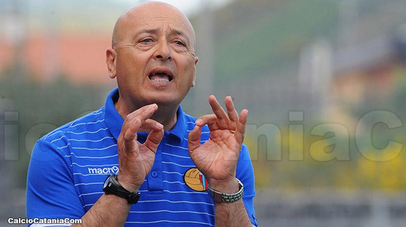 Giovanni Pulvirenti, mister rossazzurro