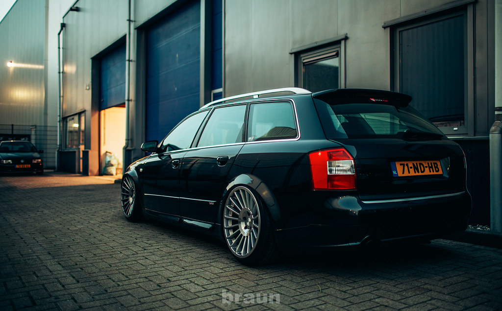 audi a4 avant b6 19x10 rotiform ind rick bruinsma flickr. Black Bedroom Furniture Sets. Home Design Ideas