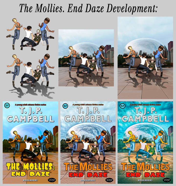 mollies END DAZE progression