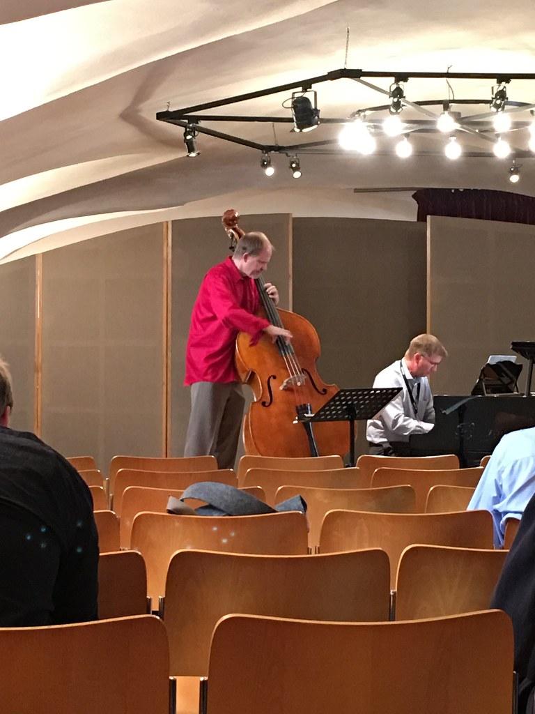 Hans Sturm and Mike Kocur in recital