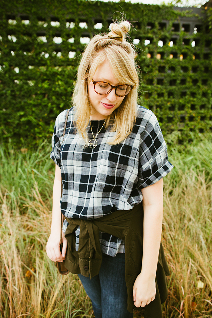 writes like a girl madewell emporia plaid shirt fall outfit7