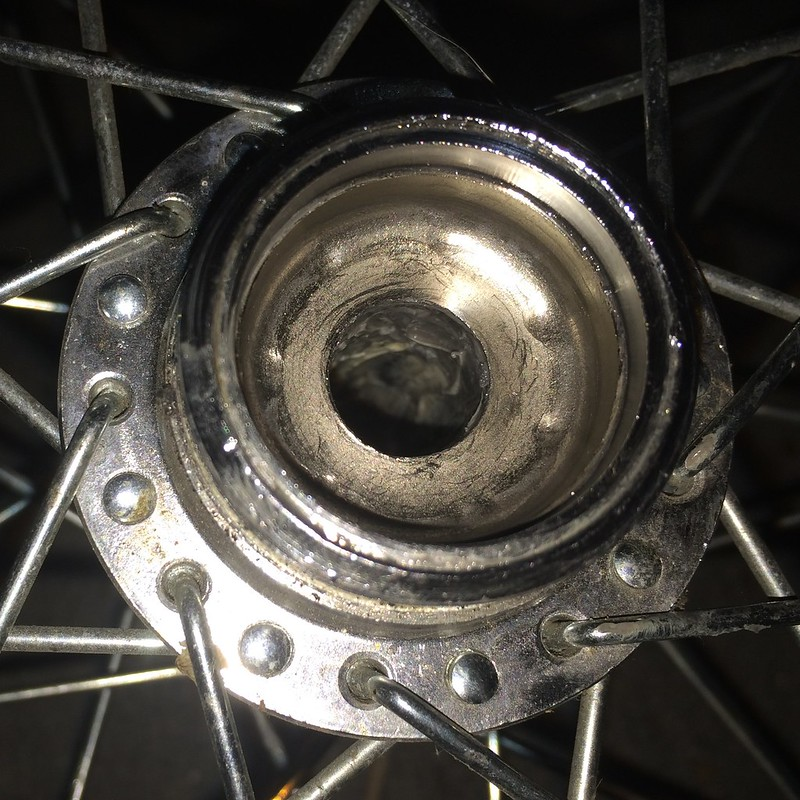NOS Rear Hub Cup And Cone Have Dimples. What To Do