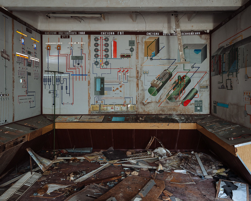 Chernobyl Duga 3 Switch Room This Room Contains