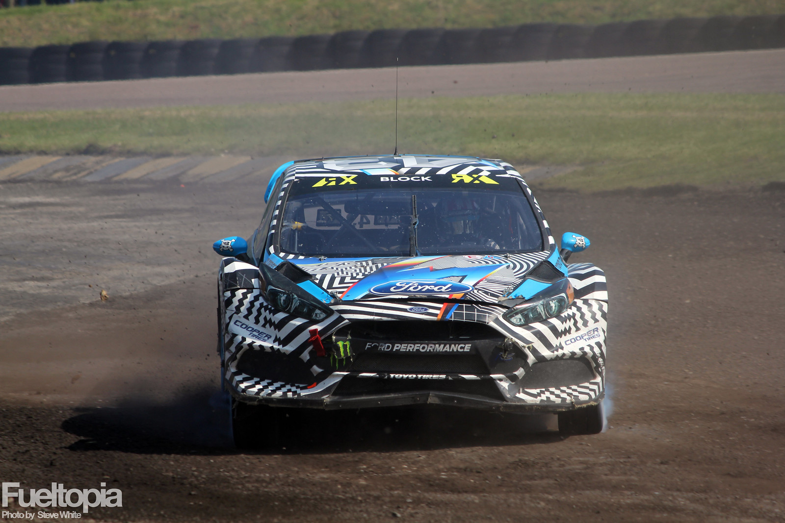 Ken Block Lydden Hill Head On Dirt Loose