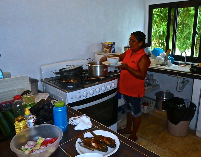 personal chef - monterrico beach house rental, guatemala