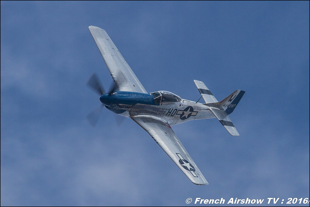 p-51 mustang , Meeting de l'air BA-125 Istres 2016 , Meeting Aerien 2016