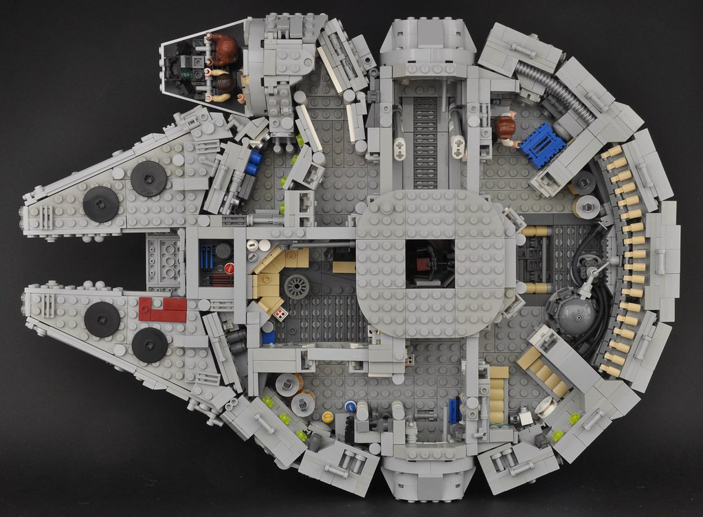 Millennium Falcon Interior Overall My Aim For The Inte Flickr