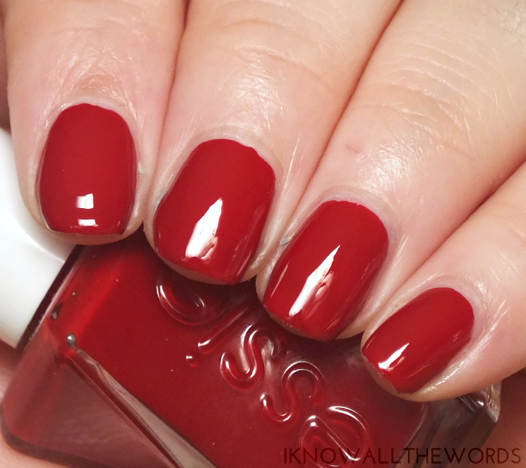 Essie Gel Couture | I Know all the Words