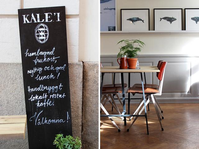 Kaffeeklatsch: Kalei Kaffe + Mat (Göteborg, Gothenburg)
