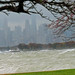 Halloween Gale, Chicago.  From Montrose Point.