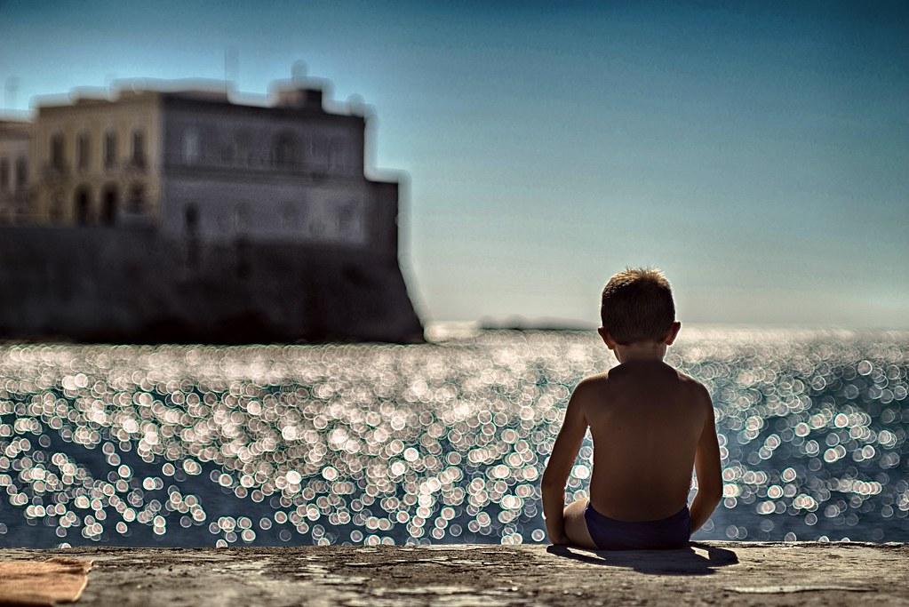Il Bambino e il Mare ............ una storia infinita !!!