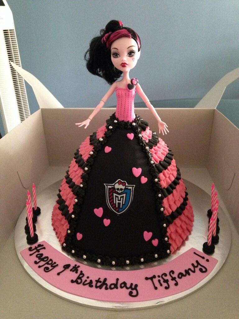 Monster High Doll Cake Images