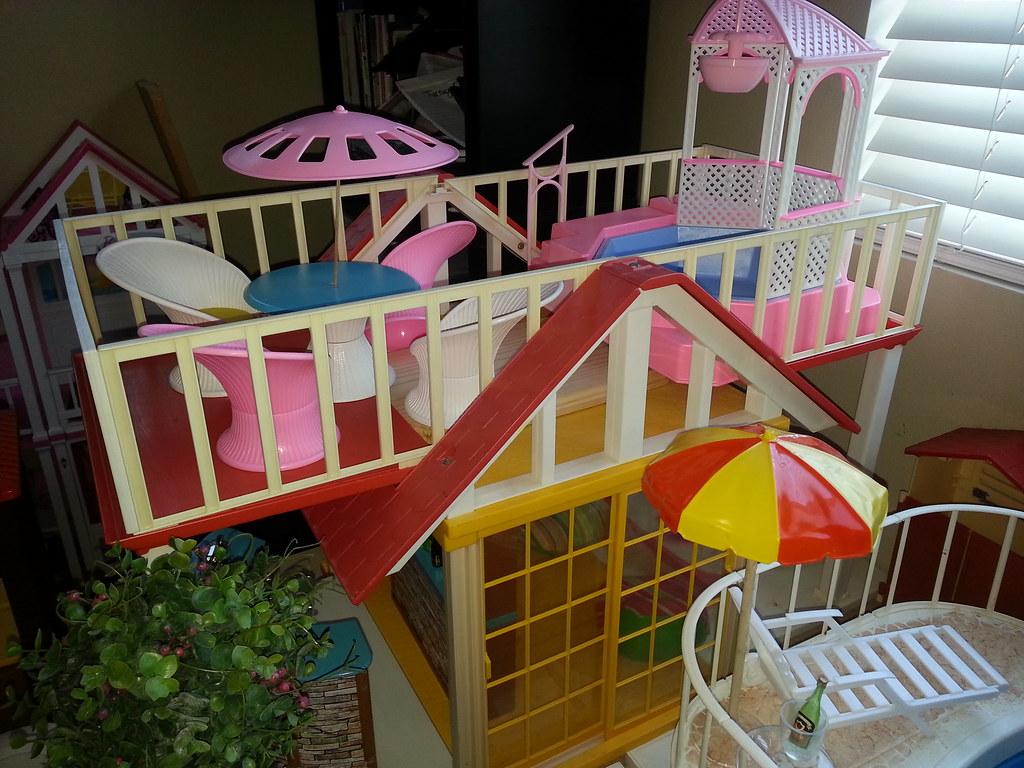 Vintage Barbie Dream House Dream Cottage Moonpiedumplin