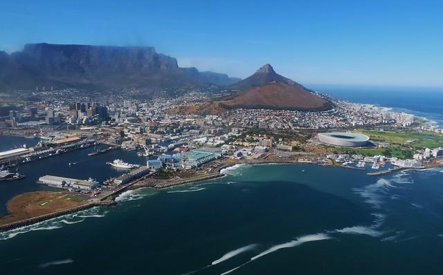 Ciudad del Cabo en helicóptero