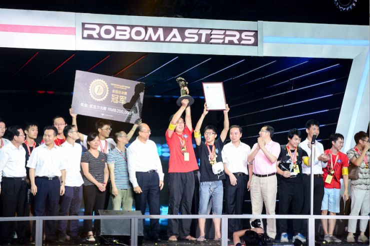 Interview with Jiang Wang Tao: engineer RoboMasters contest into F1 and the World Cup