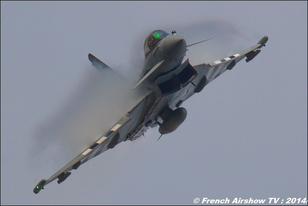RAF Eurofighter Typhoon FGR4 D-Day Stripes ZK308 AIR14 Payerne 2014 Canon Sigma France contemporary lens