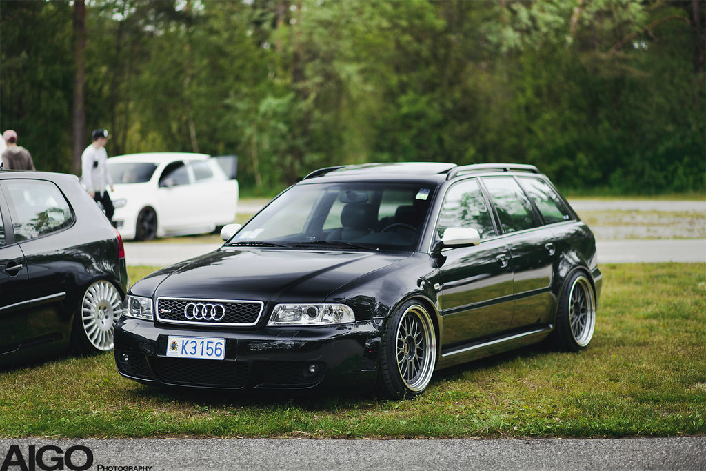 Audi Rs4 B5 Black Bbs Le Mans For More Visit My