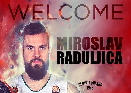 Benvenuto a Milano Miroslav Raduljica
