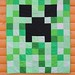 Minecraft Creeper Quilt