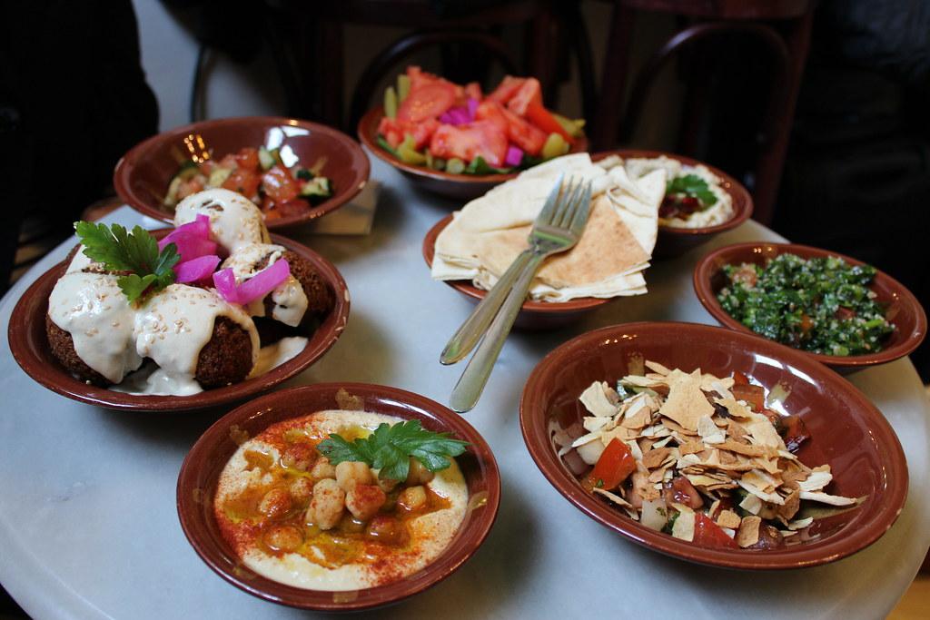 meza echt libanesisch essen bei beirut beirut m nchen flickr. Black Bedroom Furniture Sets. Home Design Ideas