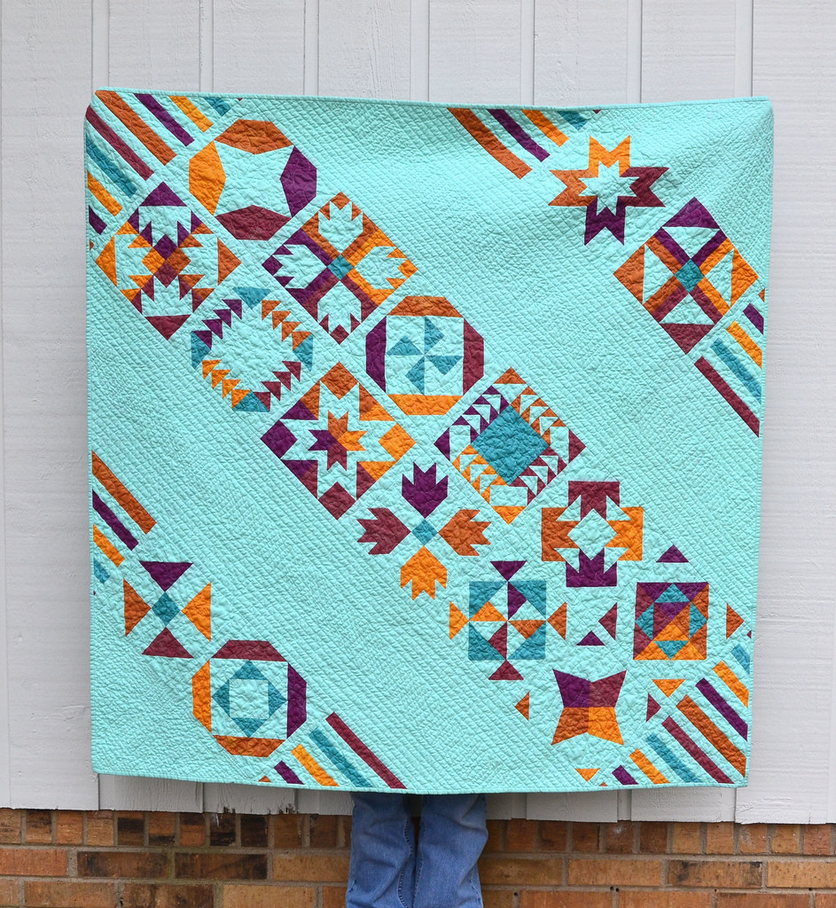 Vice Versa Bom Quilt Finish Loved This Bom My First