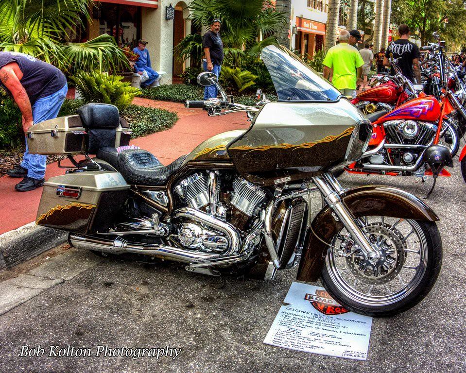 Harley Davidson Custom Road King V Rod 01 2015 Thunder