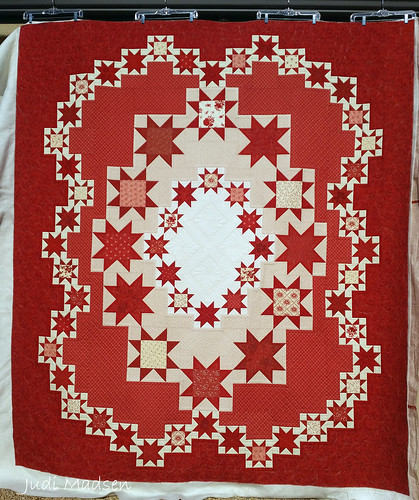 1 design from judy martin 39 s stellar quilts book pieced for Red door design quilts