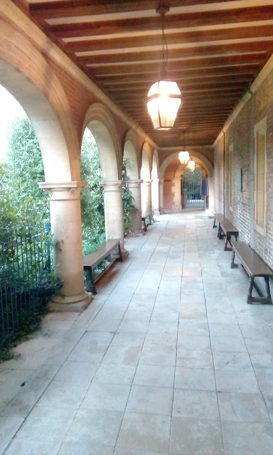 Sidney Sussex College cloister