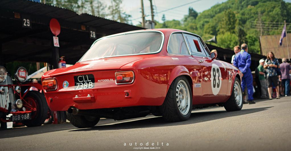 1964 Autodelta Alfa Romeo Giulia GTA - 2014 Shelsey Walsh … | Flickr