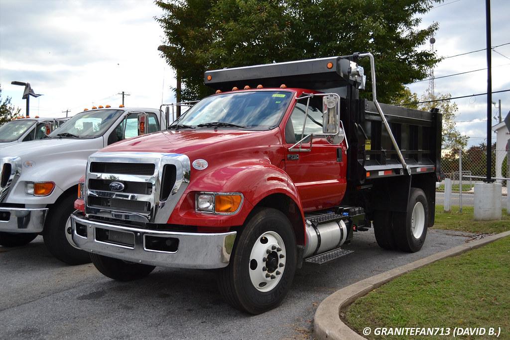 2015 Ford F750 Dump Truck | Trucks, Buses, & Trains by granitefan713 | Flickr