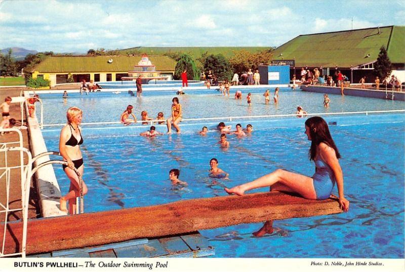 Butlins Pwllheli Outdoor Pool The Huge Outdoor Pool At B Flickr